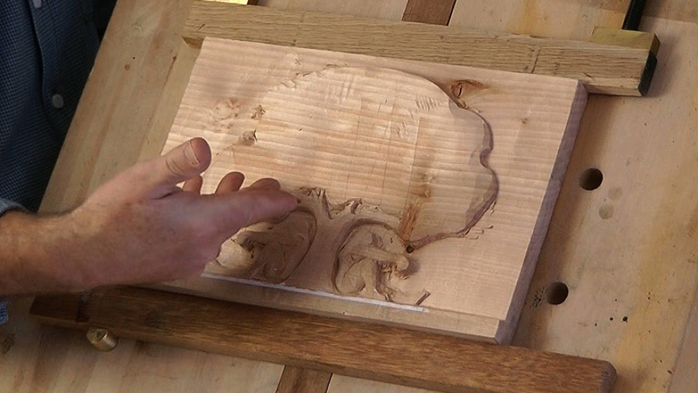 Holding relief carvings woodcarvingworkshops tv