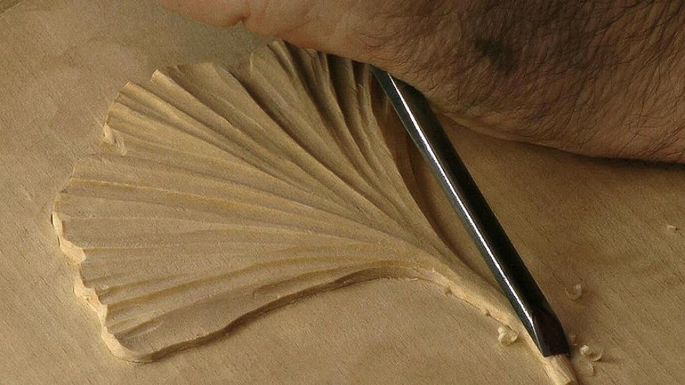 Simple leaves woodcarvingworkshops tv